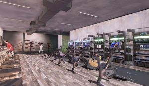 Health club design