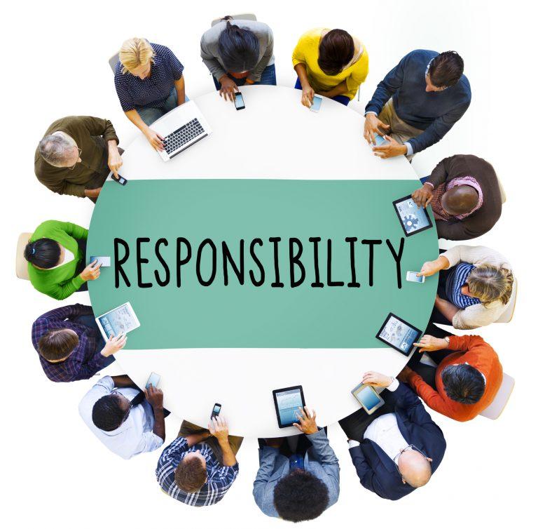 Responsibility Obligation Duty Roles Job Concept