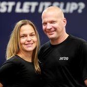 Melanie and her business partner Tobias Unge
